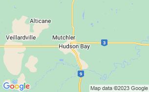 Map of Hudson Bay Regional Park