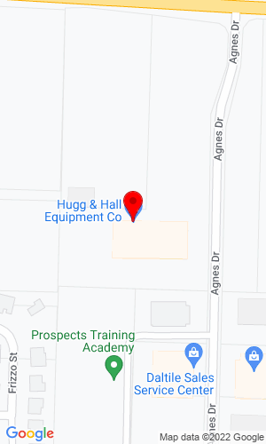 Google Map of Hugg & Hall Equipment Company 2808 McKinley Avenue, Fort Smith, AR, 72908