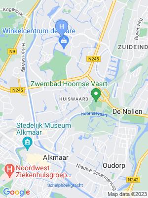 locaties map