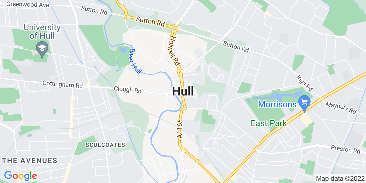 Map: CNC Milling Machinist position in Hull