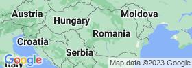 Hunedoara map