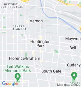 Huntington Park CA Map