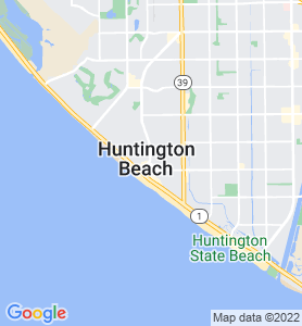 Huntington CA Map
