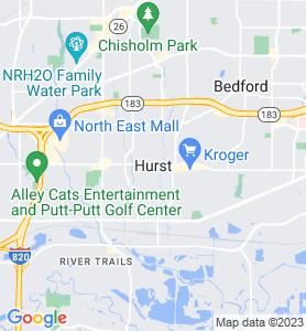 Hurst TX Map