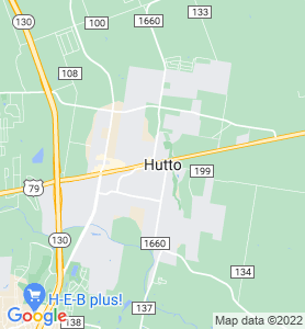 Hutto TX Map