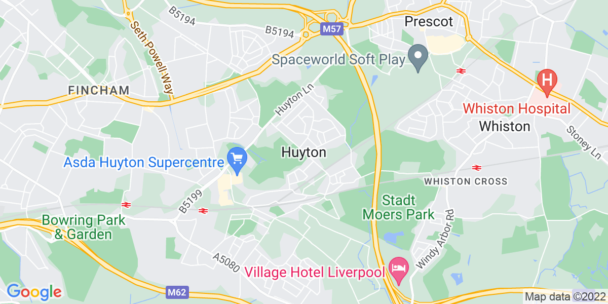 Map: Nursing Home Deputy Manager job in Huyton