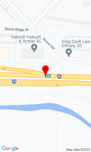 Google Map of Tractor Loader Sales I-94 at Hwy 164, Waukesha, WI, 53187