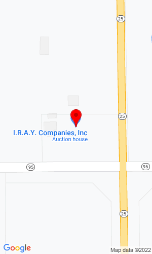 Google Map of I.R.A.Y. Auction  11935 Hwy 95 NE, Foley, MN, 56329