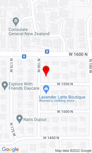 Google Map of IFS Manufacturers Representative 1566 N. 150th St. W., Bountiful, UT, 84010,