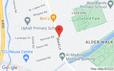Map of Loxford Polyclinic