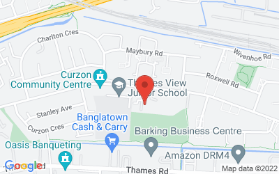 Map of Thames View Health Centre