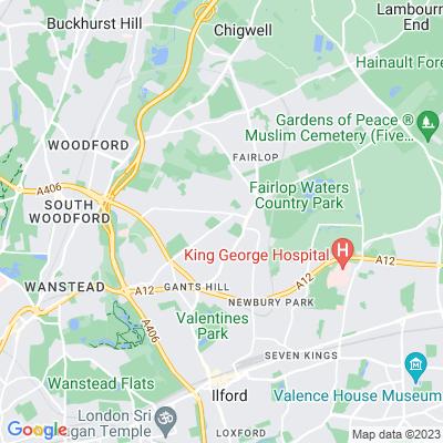 Barkingside Cemetery Location