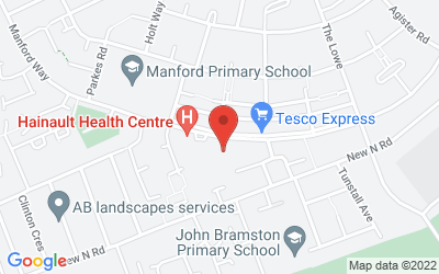 Map of Hainault Health Centre