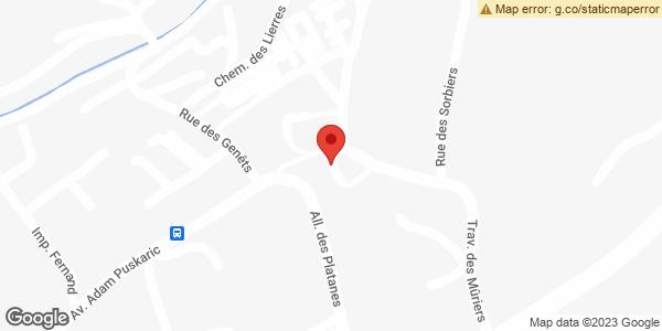 Google Map of invia france