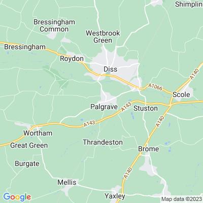 Thornham Hall Location
