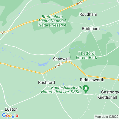 Shadwell Park Location