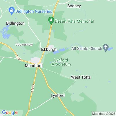 Lynford Hall Location