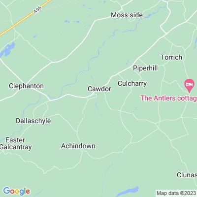Cawdor Castle Location