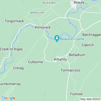 Beaufort Castle Location