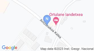 Etxeandia garagardauak mapa