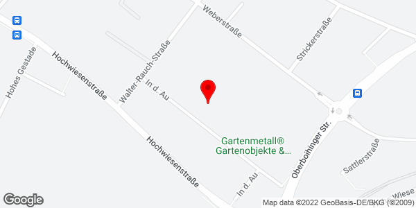 Google Map of In der Au 7, 72622 Nürtingen