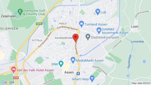 Assen op Google Maps