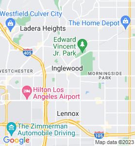 Inglewood CA Map