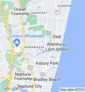 Interlaken NJ Map