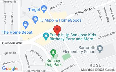 Map of San Jose Internal Spa