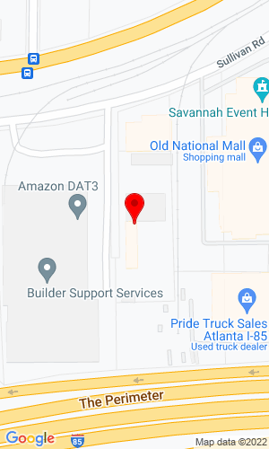 Google Map of Interstate Truck Equipment, Inc. 2740 Sullivan Road, College Park, GA, 30337