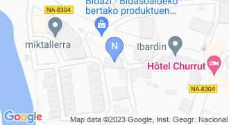 OIARTZABAL ARKITEKTOA mapa