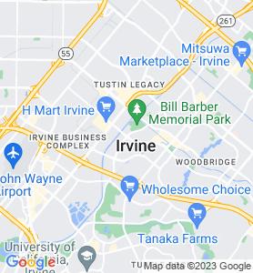 Irvine CA Map