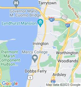 Irvington NY Map