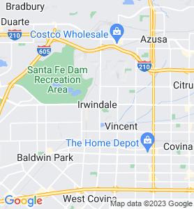 Irwindale CA Map