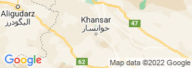 Khvansar map