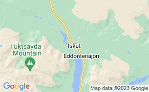 Map of Tatogga Lake RV Resort