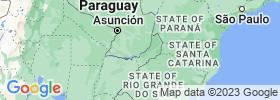 Itapúa map
