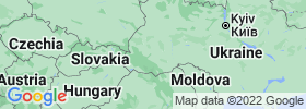 Ivano Frankivsk map