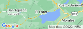 El Estor map
