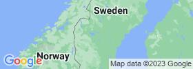 Jämtland map
