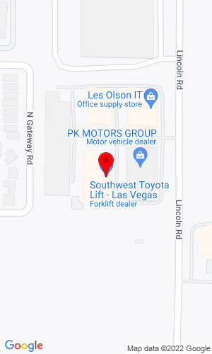 Google Map of JCB of Las Vegas 2935 Lincoln Road, Las Vegas, NV, 89115