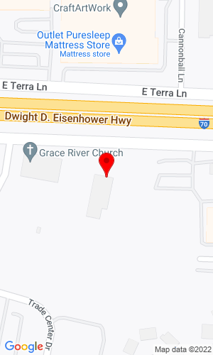 Google Map of JCB of St. Louis 7978 Veterans Parkway, St. Peters, MO, 63376