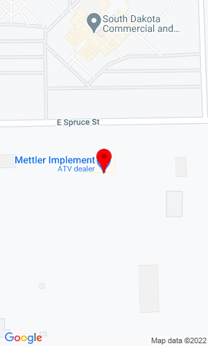 Google Map of Jac Implement 900 West Spruce, Mitchell, SD, 57301