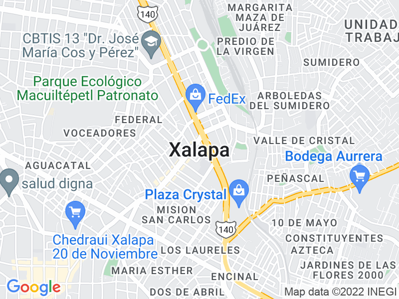 Jalapa (Xalapa), Veracruz