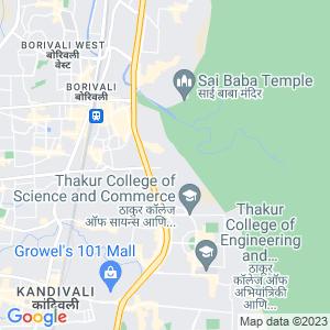 Google Map of Jalaram Diagnostics Centre, Magthane Road, Tata Power House, Borivali (East), Mumbai-400066