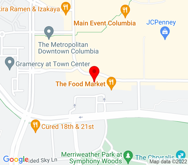 Click to view Google maps office address Jamie Waldren, CFP®, 10490 Little Patuxent Pkwy, Suite 500, Columbia, MD 21044