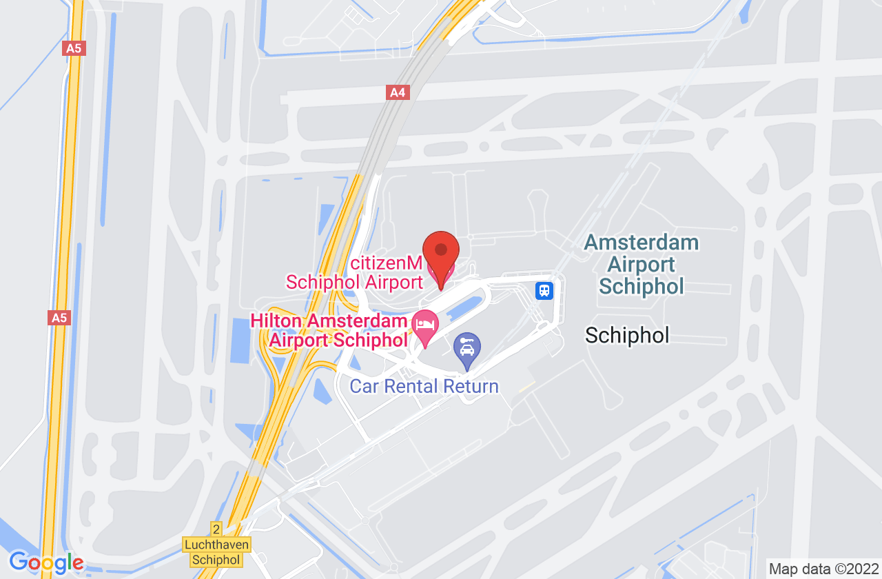 citizenM Amsterdam Airport on Google Maps