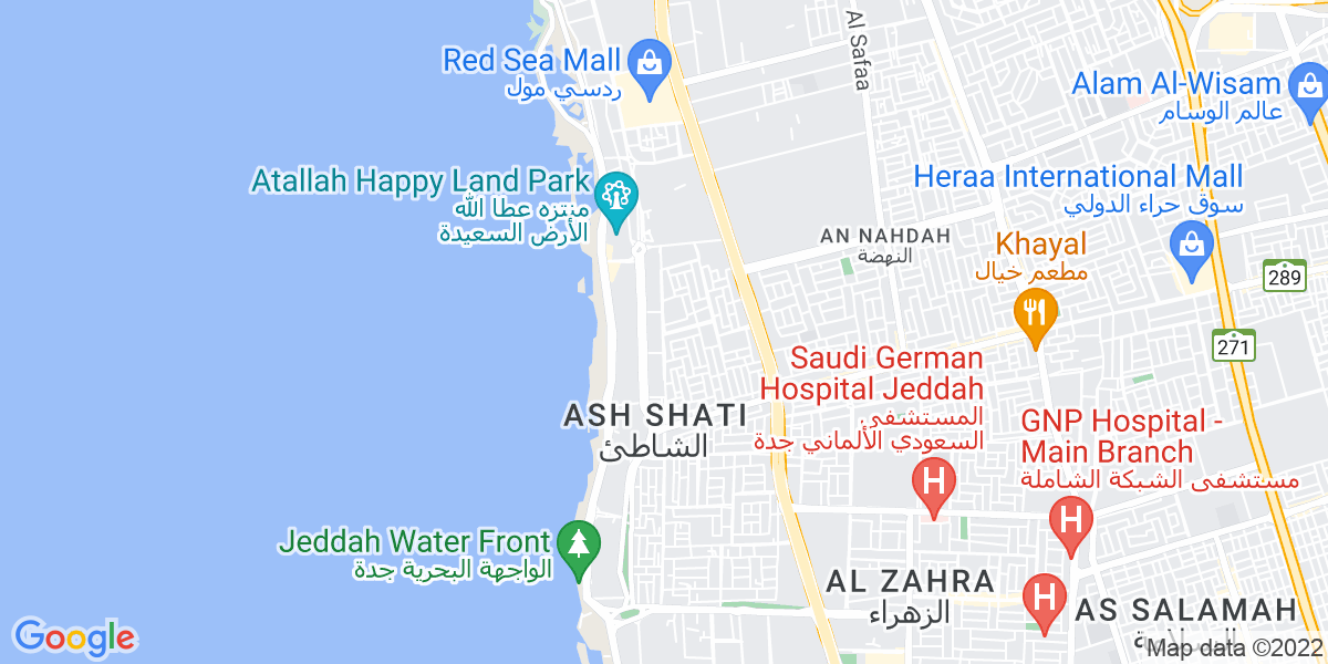 Map: Primary Teacher  job in Jeddah