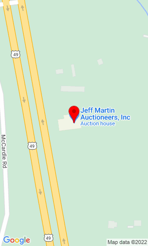 Google Map of Jeff Martin Auctioneers, Inc 2236 Hwy 49 , Brooklyn, MS, 34925,