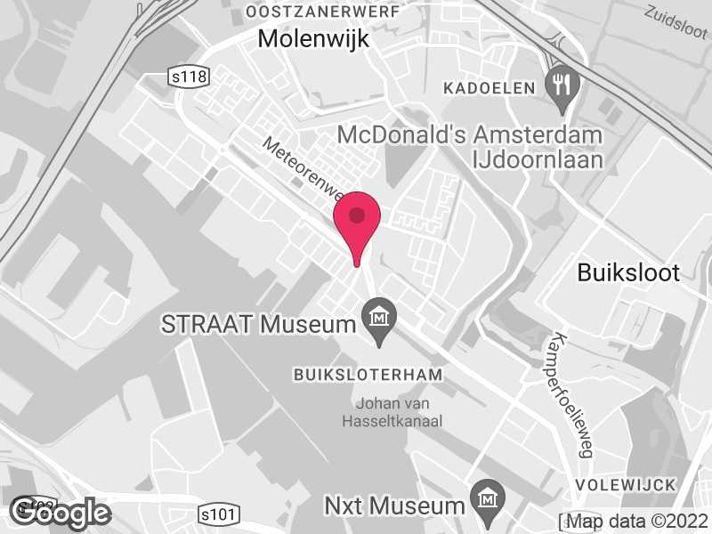 Google Map of Jellinek High Care Detox Amsterdam Klaprozenweg 111 1033 NN Amsterdam
